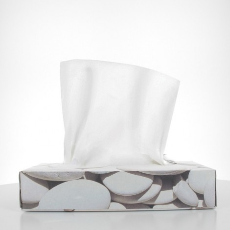 White tissues