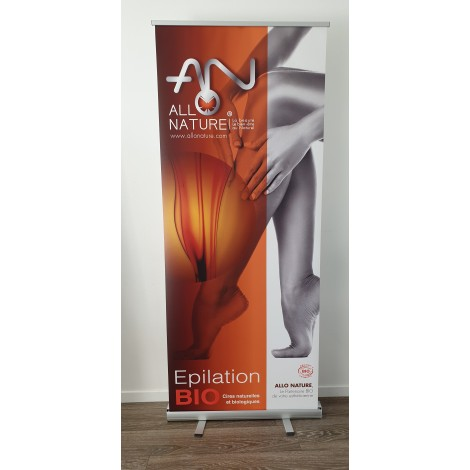 Banner X All'Orientale avec support format 60x160cm