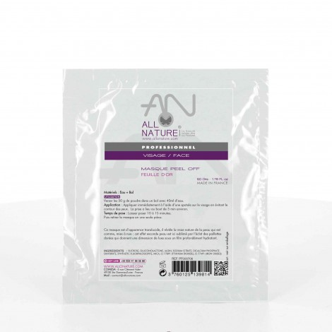 Masque visage Peel-off or
