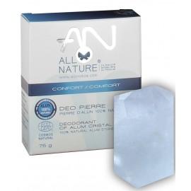 Alum stone deodorant 100% natural 75g