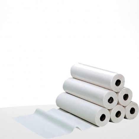 Disposable smooth paper examination sheet