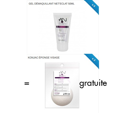 PACK GEL DEMAQUILLANT + KONJAC