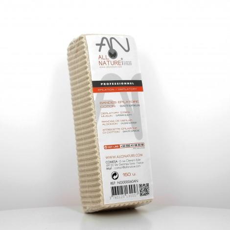 Bandes dépilatoire Coton Douceur x150 unités