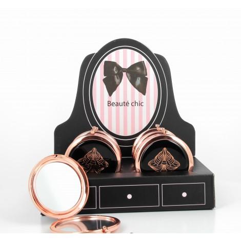 Display de caisse de 10 miroirs glamour