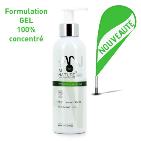 100% concentrated allonature slimming gel