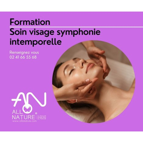 Soin visage Allonature symphonie intemporelle