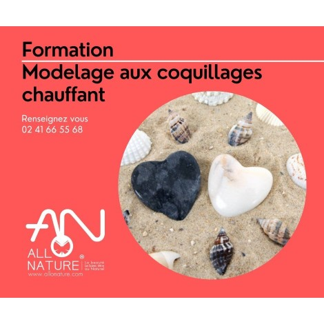 Formation modelage aux coquillages chauffant