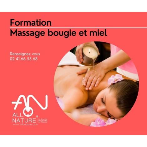 Formation Massage bougie et miel