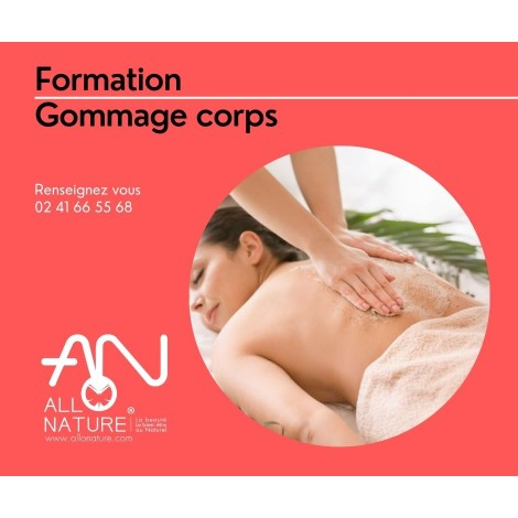 Formation gommage corps