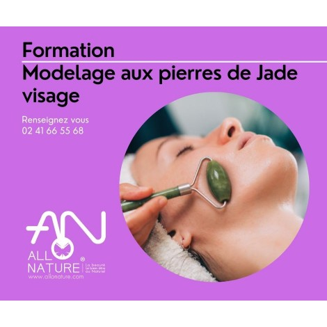 Formation modelage aux pierres de Jade visage