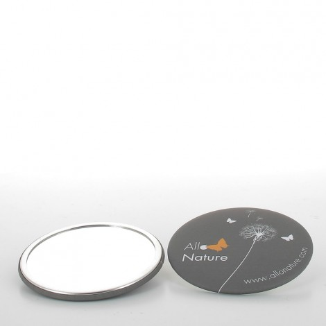 Miroir de poche 75mm Allo'Nature